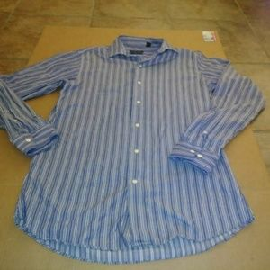 Men's Shirt Marc Anthony Button Front Size 15 1/2